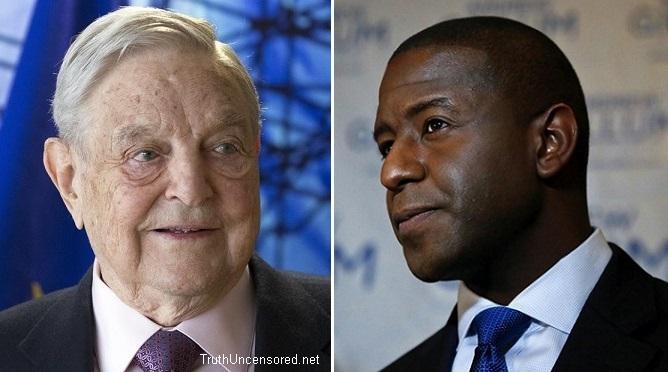 Florida Governor Nominee Gillum: 'Deeply Appreciative' of Money From George Soros (Video)