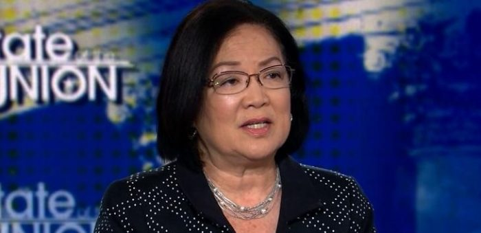 Hirono: Protesters Are Justified Running Senators out of Restaurants Because of White Supremacists (Video)