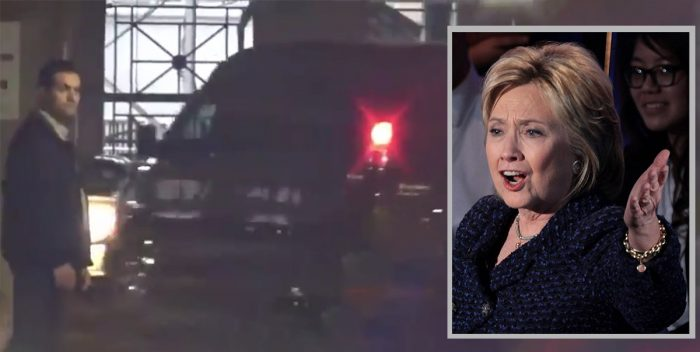 Hillary Clinton Involved in Car Accident When Secret Service Van Crashes (Video)