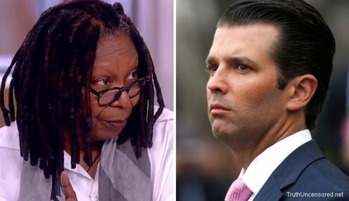 Whoopi Goldberg Suggests Trump Jr's Sons May Have 'Tendencies' to Abuse Women (Video)