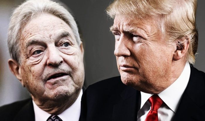 Trump Accused of Being Anti-Semitic Over Claim Soros Funded 'Elevator Screamers'