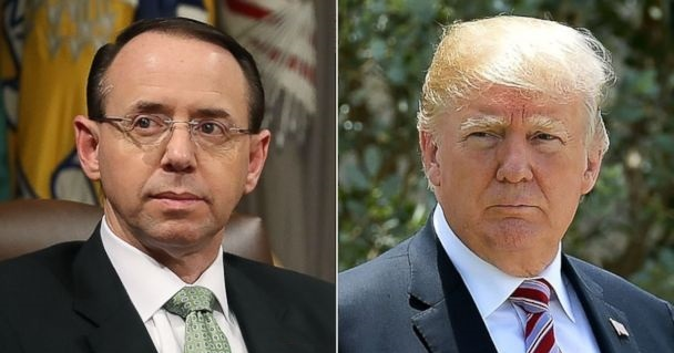 FBI Officials Took Rosenstein's Suggestion to Wiretap Trump and Invoke 25th Amendment Seriously