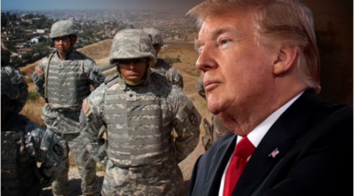 Pentagon Braces For 'Migrant Invasion': 5,000 Armed Troops, Helicopters and Drones