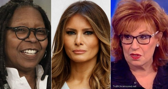 'The View' Trashes Melania: She Has 'No Friends,' Doesn't Care, Needs a Handler' (Video)