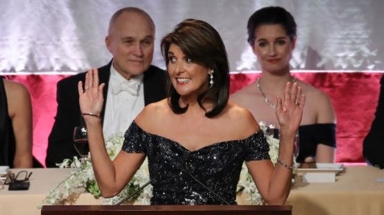 Nikki Haley's Top Jokes at NYC Fundraiser: 'Trump Asked If I Was From Same Tribe as Warren' (Video)