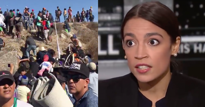Twitter Erupts After Ocasio-Cortez Compares Migrant Caravan to Jews Fleeing Holocaust