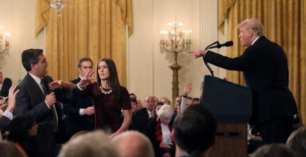 CNN Sues Trump Demanding He Restore Jim Acosta's White House Credential