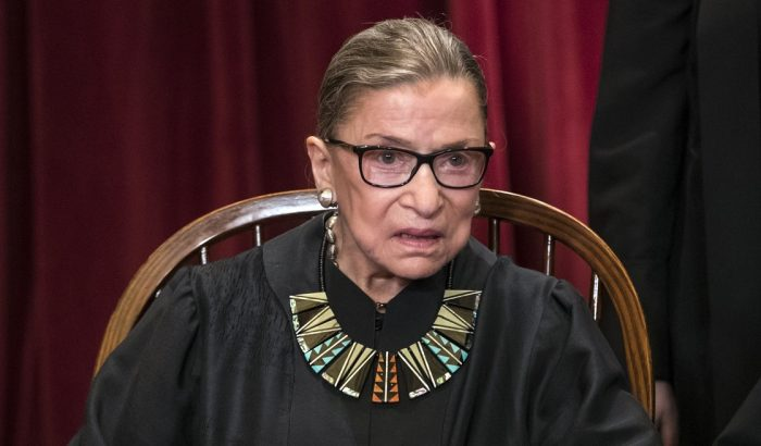 US Supreme Court Justice Ruth Bader Ginsburg Hospitalized After Falling