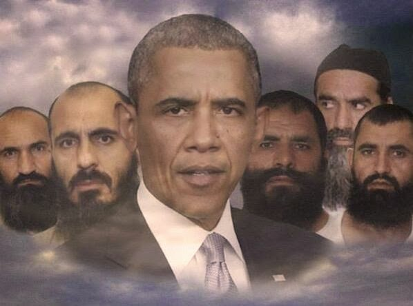 "Gitmo Terrorists Obama Traded for Army Deserter Bowe Bergdahl ""Reinforce"" Taliban in Qatar"