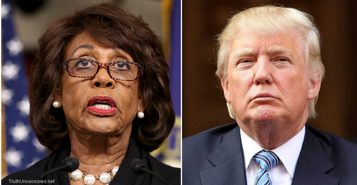 Maxine Waters: Trump Wants The Chaos At The Border, It's A Political Ploy (Video)