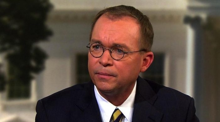 Trump Names Mick Mulvaney As Acting Chief Of Staff