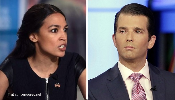 Alexandria Ocasio-Cortez Threatens Don Jr. With Congressional Subpoena In Response To Meme