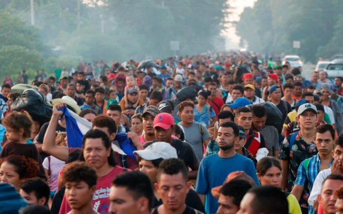 Migrant With Flesh-Eating Bacteria Found With Large Group Illegally Crossing Border