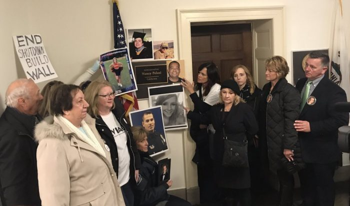 Nancy Pelosi Hides, Refuses To Meet With Angel Moms Protesting Inside Her Office (Video)