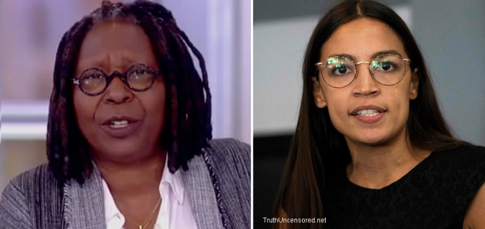 Whoopi Chastises Ocasio-Cortez: Stop 'Pooping' On Democrats, 'Sit Still' And Learn The Job (Video)