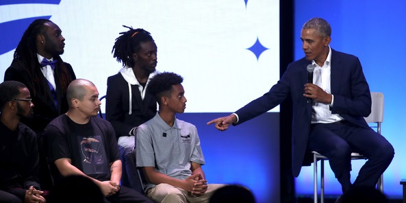 Obama Gets Slammed For Telling Black Kids to Lose Gold Chains and Avoid Twerking (Video)