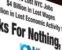 Times Square Billboard Blasts Ocasio-Cortez Over Amazon Deal: 'THANKS FOR NOTHING!'