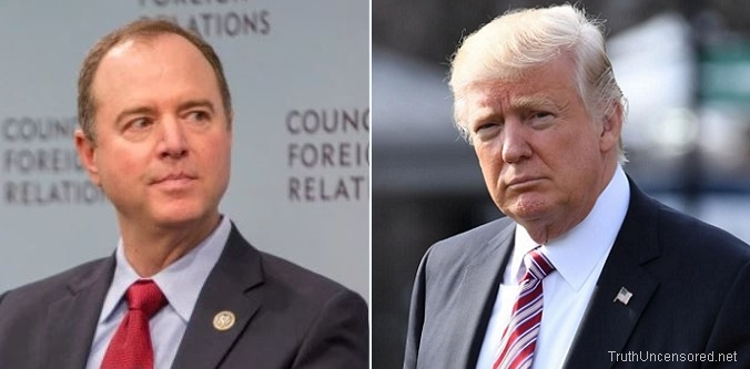 Schiff: 'There's Ample Evidence of Collusion' Between the Trump Campaign and Russia (Video)