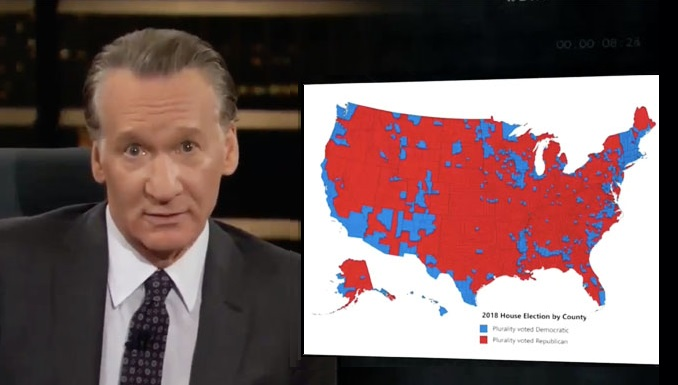 Bill Maher Mocks Middle Class America: Less 'Affluent and Uneducated' People Who 'Want to Be Us' (Video)