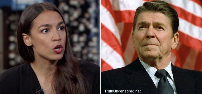 AOC: Ronald Reagan Used Racist Caricatures to Screw Over All Working-Class Americans (Video)