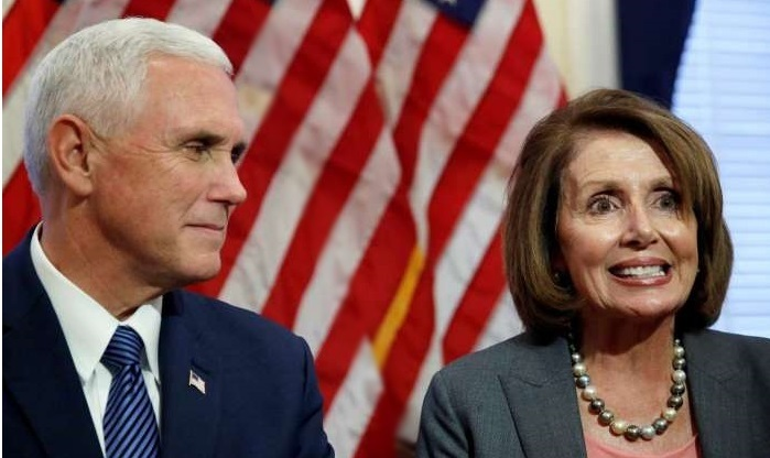 Nancy Pelosi Evicts Vice President Mike Pence From His House Office