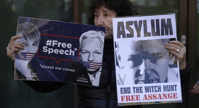 DOJ Could Build Julian Assange Case on Espionage Act Which Carries Possible Death Sentence