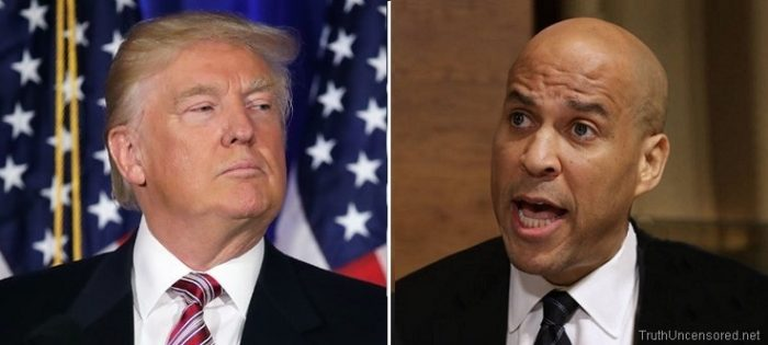 Cory Booker Accused Trump Of Taking Credit For Economic Recovery That Obama Started (Video)