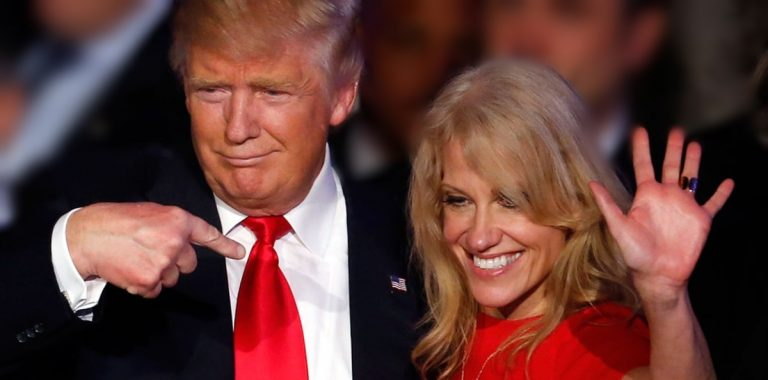Trump Will Not Fire Kellyanne: 'I Will Not Take Away Her Right To Free Speech' (Video)