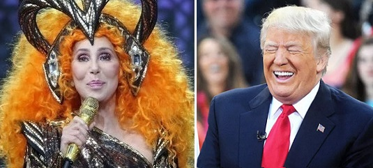 """Cher Unhinged: """"If Trump Wins Second Term There Will Be No America!"""""""