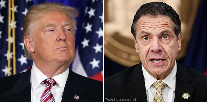 N.Y. Governor Cuomo Signs Bill Allowing Congress To Access Trump's Tax Returns