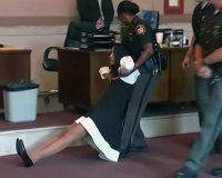 Courtroom Erupts When Corrupt Judge Is Dragged Out By Police And Sent To Prison (Video)