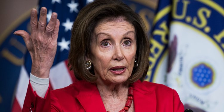 """Watch As Crazy Nancy Gets Asked Question By Reporter That Sets Her Off, """"What was your immediate reaction when you saw that photo and who do you hold responsible for it? """""""