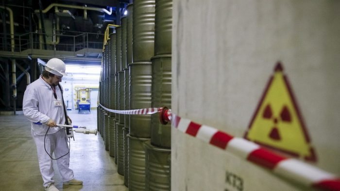 South Carolina nuclear fuel plant kept radioactive trash in leaky rusted container