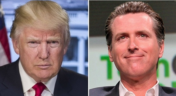 California governor signs legislation forcing Trump to show tax returns before he can appear on ballot