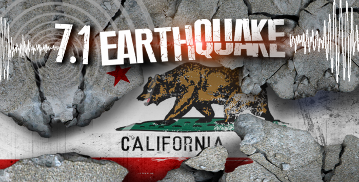 California At Risk Of 'Even Bigger Earthquake' Following Larger Aftershock (Video)