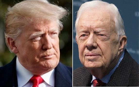 Jimmy Carter: Donald Trump Is An Illegitimate President (Video)