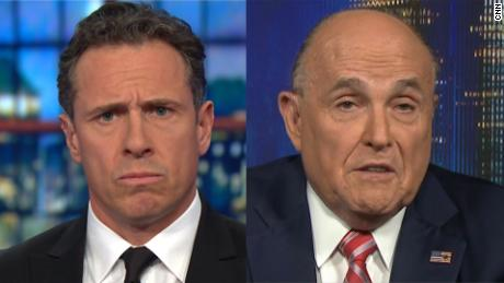Giuliani Spars With Cuomo, Calls The CNN Host A 'Sellout' And The Enemy (Video)