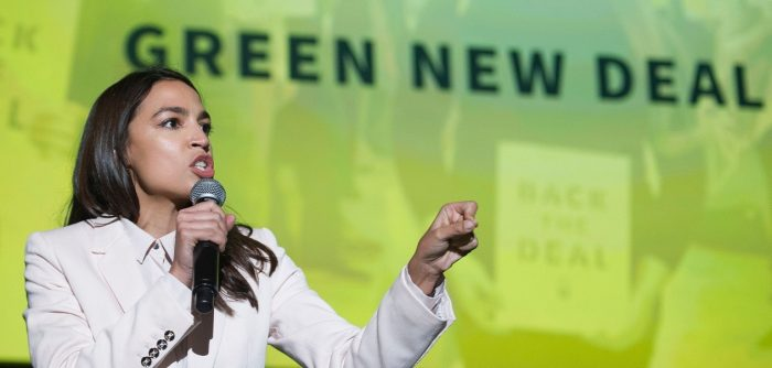 Alexandria Ocasio-Cortez blames climate change for the immigration crisis on the southern border