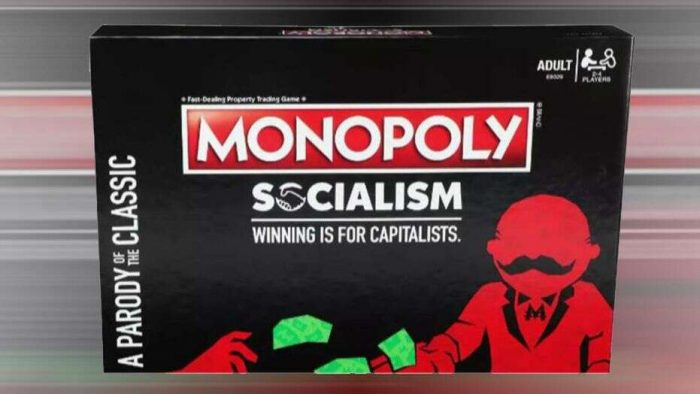 Hasbro's new 'Monopoly Socialism' game is coming up against some criticism