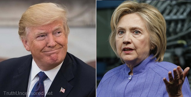 "Hillary Clinton: Trump, the ""illegitimate president"" will not win re-election"