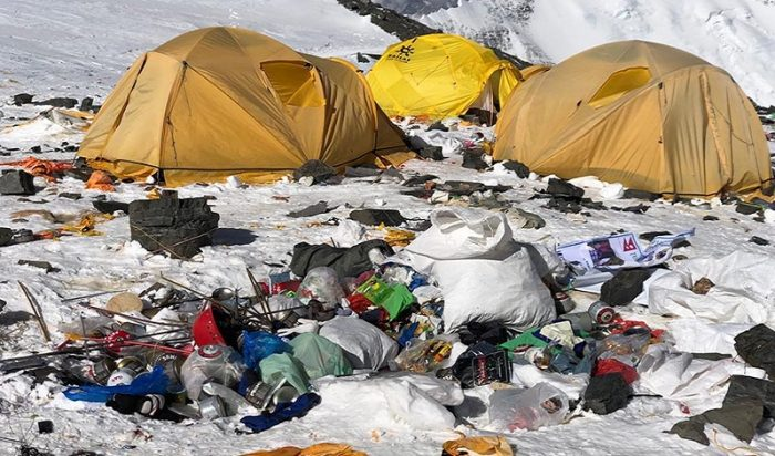 In an effort to clean up Mount Everest, Nepal is banning single-use plastics on the mountain by 2020