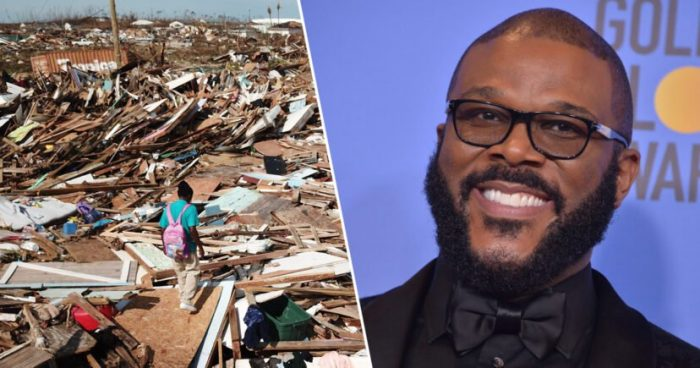 Actor Tyler Perry uses personal plane to deliver supplies and rescue people from the Bahamas