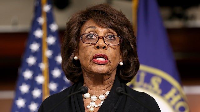"Maxine Waters: Pence, Barr Involved in Ukraine ""Conspiracy"" With Trump (Video)"