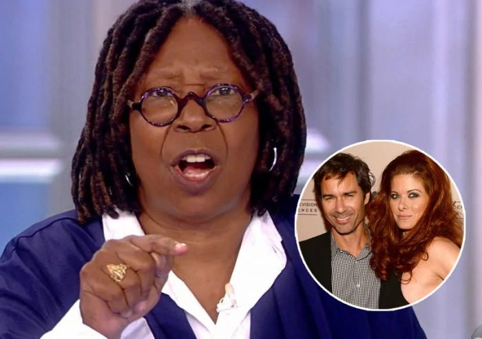 Whoopi Goldberg rips Debra Messing and Eric McCormack for demanding Trump donor 'blacklist' (Video)