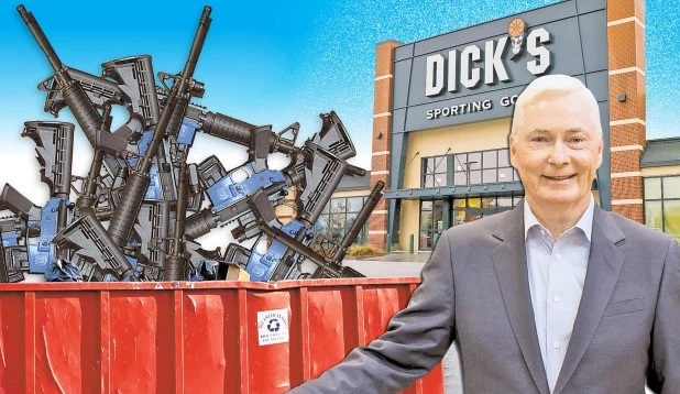 Dick's Sporting Goods CEO says they destroyed $5 million worth of 'assault-style rifles' (Video)