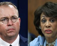 Maxine Waters Refuses Mulvaney Clarification, Calls Trump 'Most Corrupt Man in America'