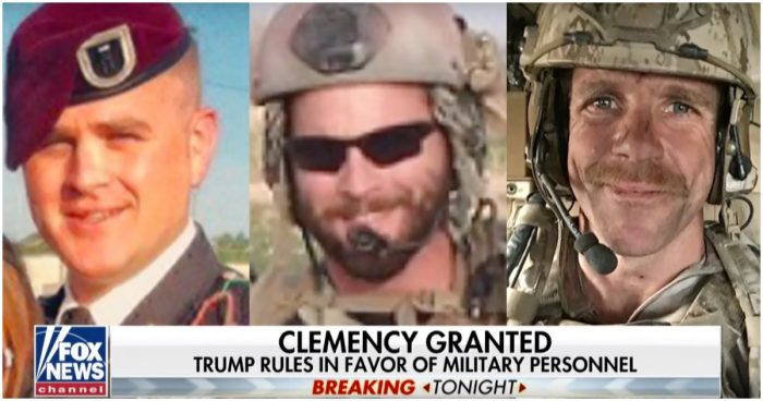 Trump Pardons Two Army Officers Accused of War Crimes, Restores Eddie Gallagher's Rank