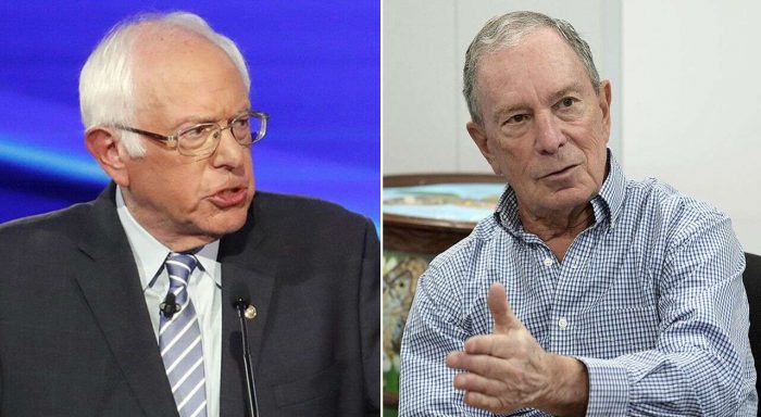 Bernie Sanders Bashes Billionaire Bloomberg Over Big-Time Ad Buy