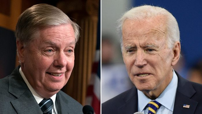Joe Biden: Lindsey Graham Will 'Regret' Investigating Me 'His Whole Life' (Video)
