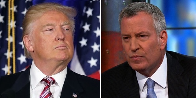 Bill de Blasio Blames Trump For Hanukkah Attack: His 'Hateful Speech' Emboldened Violent Forces (Video)